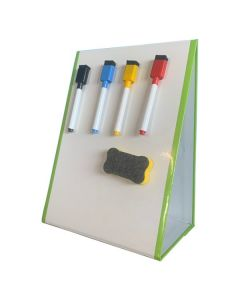 A4 Tabletop Magnetic Dry Erase Whiteboard Easel