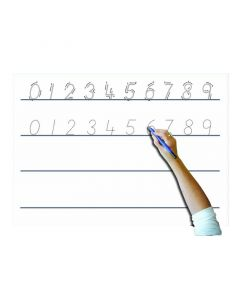 A4 Whiteboard Set - Number Formation