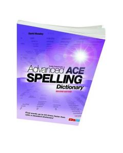 Advanced ACE Spelling Dictionary