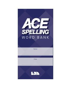 ACE Spelling Word Bank