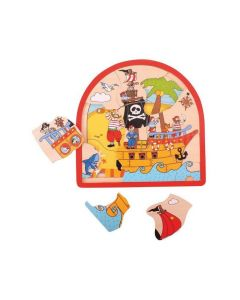 BigJigs Pirate Arched Puzzle