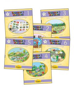 Jolly Phonics - Grammar 1 Workbooks 1-6