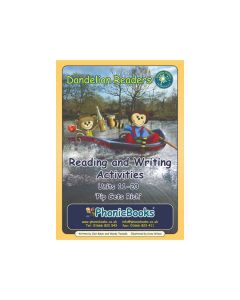 Dandelion Readers, Set 1 Units 11-20, Reading & Writing Activities
