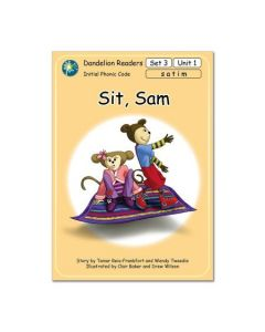 Dandelion Readers, Set 3 Units 1-10 'Sit, Sam'