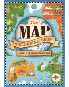 The Map Colouring Book : A World of Things to Colour