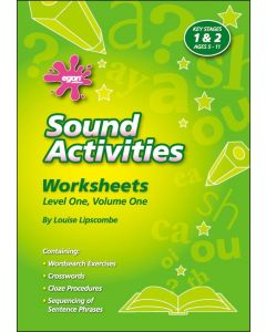 Sound Activities - Worksheets Level One, Volume One