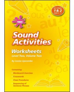 Sound Activities - Worksheets Level One, Volume Two