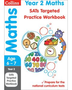 Year 2 KS1 Maths Revision Targeted Practice Workbook (Collins)