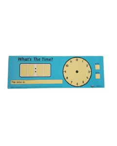 Teacher's 'What's The Time?' Poster