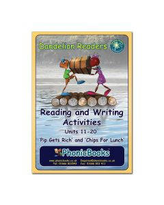Dandelion Readers, Set 2 Units 11-20 Reading & Writing Activities