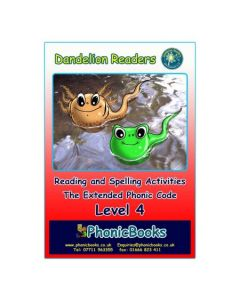 Dandelion Readers, Level 4 Reading & Spelling Activities