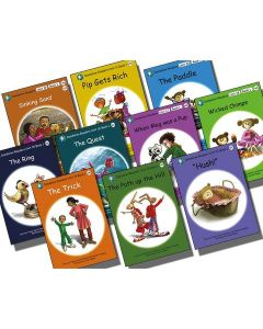 Dandelion Readers - Units 11-20 (10 books) 'Pip Gets Rich'