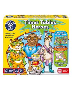 Orchard Toys Times Tables Heroes Game