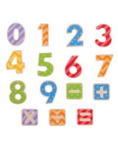 Magnetic Numbers - BigJigs