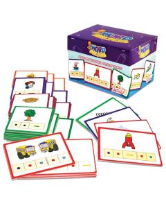 Word Builders Activity Cards (for use with tri-blocks tub)
