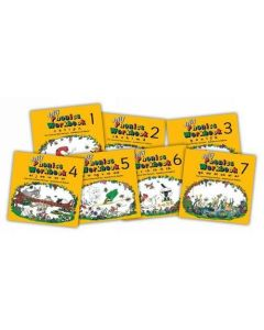 Jolly Phonics Workbook - Set of books 1 to 7