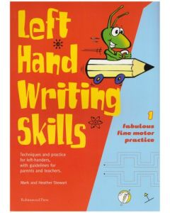 Left Hand Writing Skills: Fabulous Fine Motor Practice Book 1