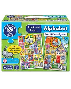 Look and Find - Alphabet Jigsaw
