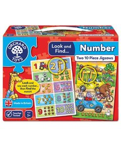 Look and Find - Number Jigsaw