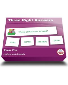 Three Right Answers - Phase Five