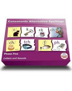 Consonant Alternative Spellings Puzzles