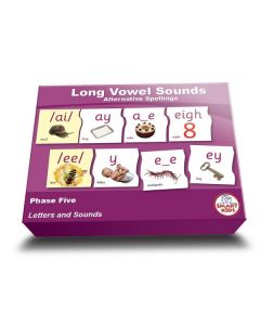 Long Vowel Alternative Spellings Puzzles