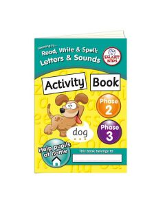 Letters and Sounds Phase 2 & 3 Decodable Text Activity Book