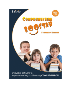 Comprehension Booster Expansion Pack