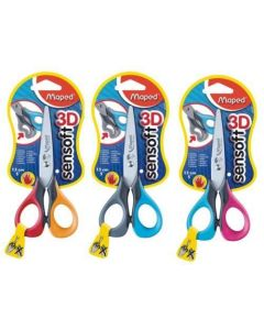 Maped Sensoft 3D Scissors Left Handed 13cm