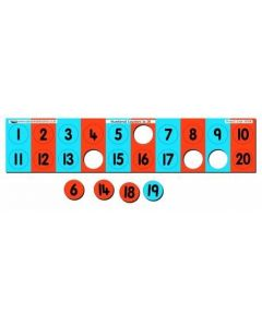 Numbered Counters to 20