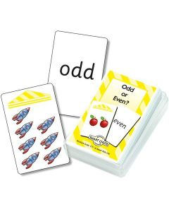 Odd or Even Numbers Chute Cards