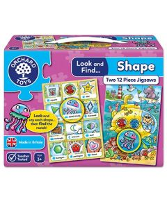 Look and Find.. Shape Jigsaw