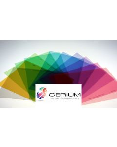 Cerium A4 Coloured Overlays