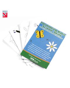 Developing Basic Scissor Skills – Work Cards
