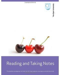 Reading and Taking Notes