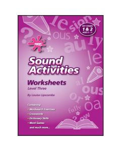 Sound Activities - Worksheets Level Three