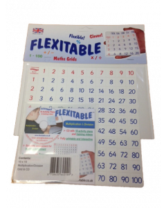 Flexitable Multiplication & Division Grid with CD (10 x 10)
