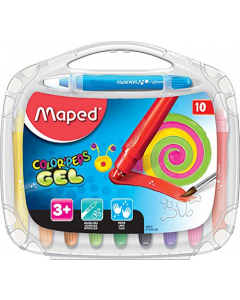 Maped Color Peps Gel Crayons (Pack of 10)