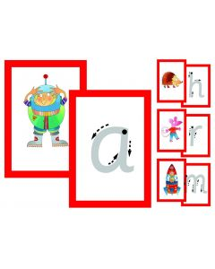 Teacher's Letters & Picture Cards (Infant Print)