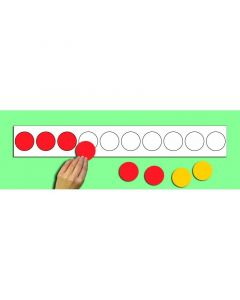Magnetic Counter Strip & 10 Counters