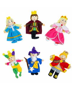 Royalty Finger Puppets