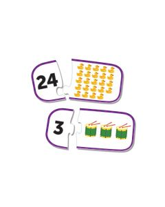 Counting Puzzle Cards
