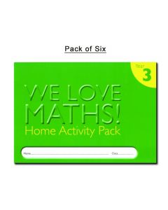 Homework Activity Diary - Year 3 (Pack of 6)