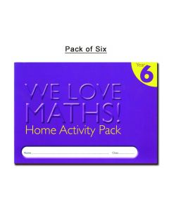 Homework Activity Diary - Year 6 (Pack of 6)