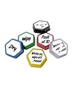 Dry Wipe Labels - Pack of 10