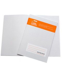 Whitelines A5 Exercise Book (5mm Squared)