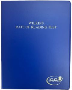 Wilkins Rate Of Reading Test