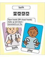 Let's Sign BSL Early Years & Baby Signing Flashcards